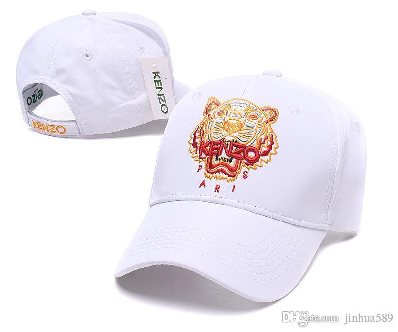 8f42d488 Nice Baseball Caps Brand Designer Tiger Embroidered Mens Golf ball Hats  Classic Ball Caps Kpop Dad Hat Bone casquette DF16G27