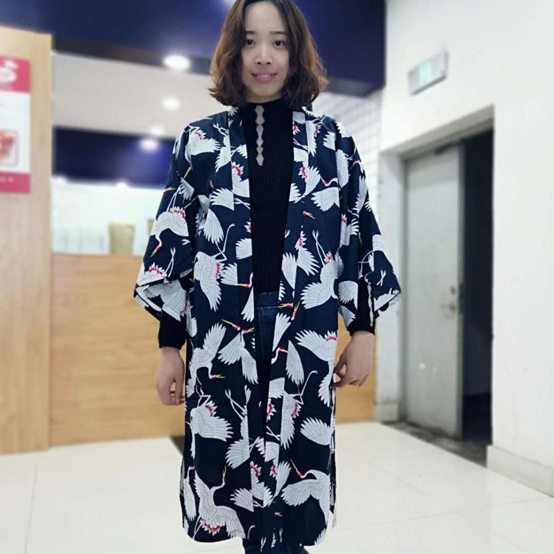 2540febc7 Kimono Cardigan Women 2019 Japanese Kimono Long Traditional Shirt ...