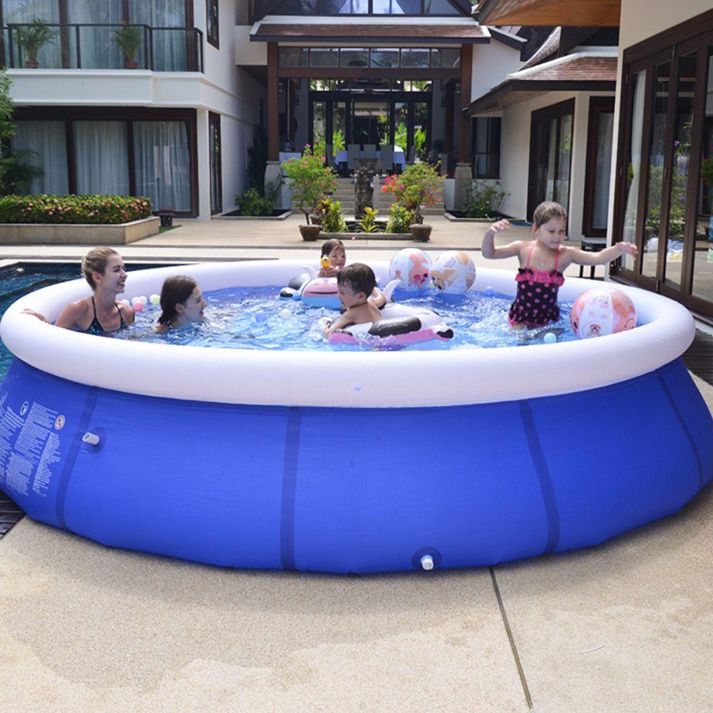 야외 풍선 수영장 패들링 풀 마당 정원 가족 아이들은 큰 성인 유아 풍선 수영 아이 오션 플러스 많은 주식을 플레이