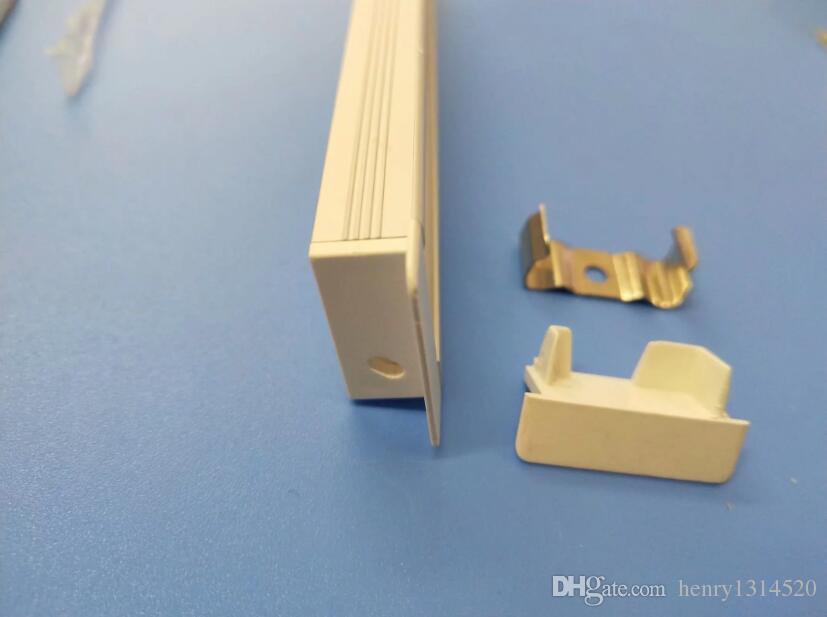 Livraison gratuite haute qualité 2 m / pcs 80 m / lot profil en aluminium  pour porte de placard porte / portes d armoires de cuisine en aluminium