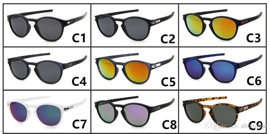 Neue Ankunft Mann Frau Latch Sunglass Männer Frauen Latch Sonnenbrillen Outdoor Radfahren Sport Sonnenbrillen Googel Gläser
