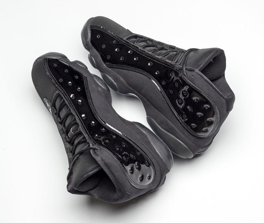 check out c55e9 bf2b3 Top Air Authentic 13 Cap And Gown Basketball Shoes Real Carbon Fiber For  Men 13S Black Suede Noir Retro Sports Sneakers 414571-012 US 7-13 2019  Release Cap ...