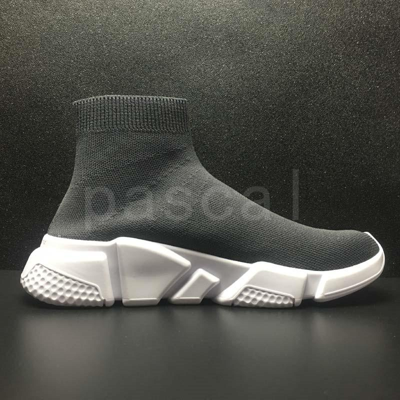 Platform Speed Trainer Mens Womens Sock Shoes Black White Red Men Women Top Quality Fashion Luxury Designer Sneakers Casual Shoes L28