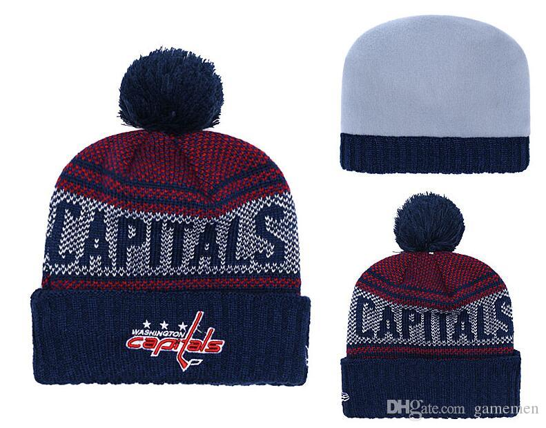 80bdcf613ec ... low cost 2019 beanies hats washington capitals ice hockey knit beanies detroit  red wings boston bruins