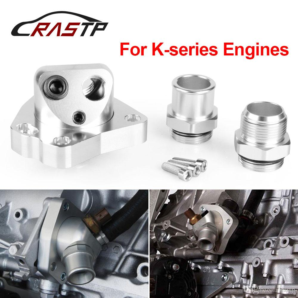 RASTP - High Quality Cooling Component swivel Neck Thermostat For Engine K  Series K20 K24 Radiator RS-OSA010