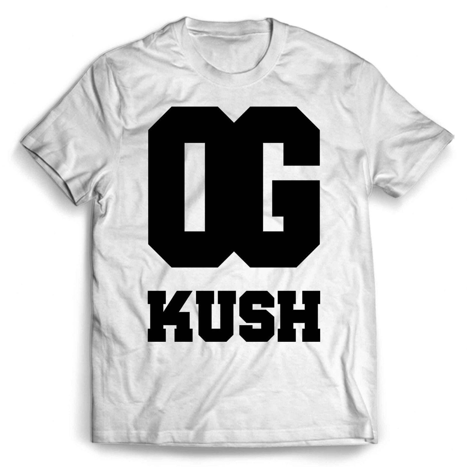 7073589d904 OG Kush Logo Man   Woman T Shirt Funny Unisex Casual Top Fitted Shirts T  Shirt Sale From Dappachappy
