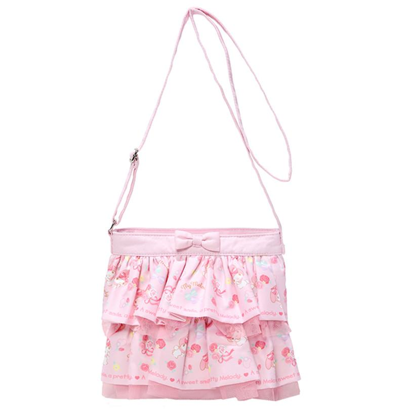 f927e94ed9 Hello Kitty My Melody Tote Bag Handbag Cute Lace Ruffles Dual Use Shoulder  Messenger Bag Sling Crossbody Bags For Girls Laptop Backpacks Cool  Backpacks From ...
