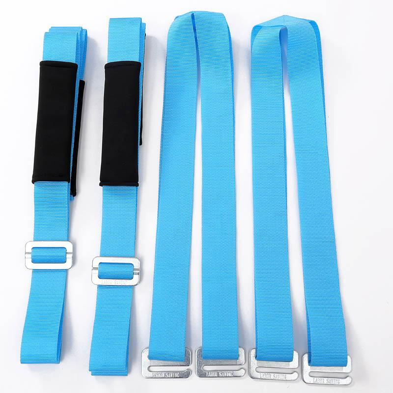 2x Forearm Lifting Moving Strap Furniture Transport Belt Easier Carry Rope Useful Furniture Moving Straps Carry Rope Heavy Lift