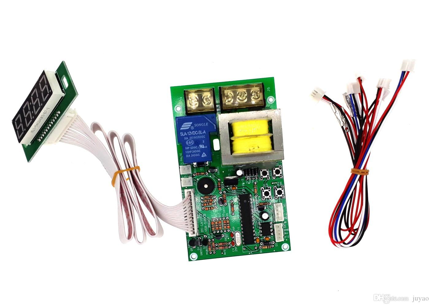 JY-16S Screw type coin operated Timer board Timer Control Board Power  Supply with coin acceptor selector for washing machine