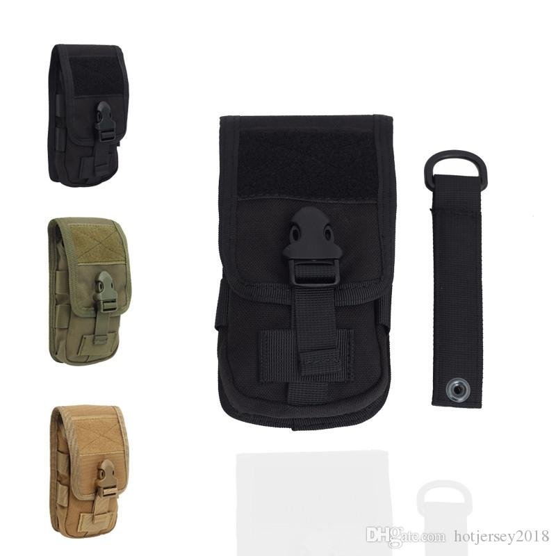 e543419efa 2019 Molle Military Waist Bag Work Pack Bag For Tactical Belt Pouch Case  Mobile Phone Holder Multifunction Hip Pack D Ring Hook S  250867 From  Hotjersey2018 ...