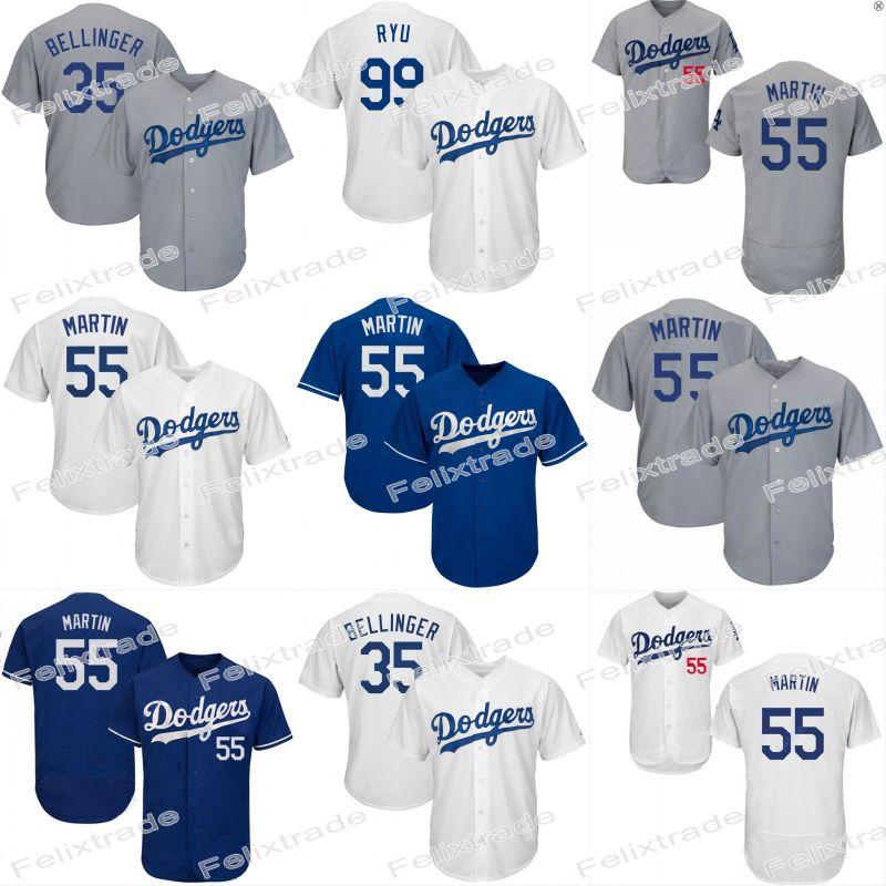super popular 1d3fe 0e7ed 55 Russell Martin Dodgers Jersey 35 Cody Bellinger Los Angeles Joc Pederson  Enrique Hernandez Max Muncy Corey Seager Justin Turner
