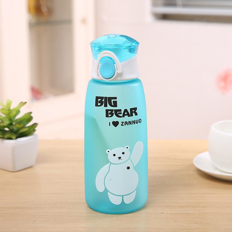Water Bottle Leakproof Tritan Material Children My Sports Drinkware for Kids Tour Portable Camp Bottles 500ml