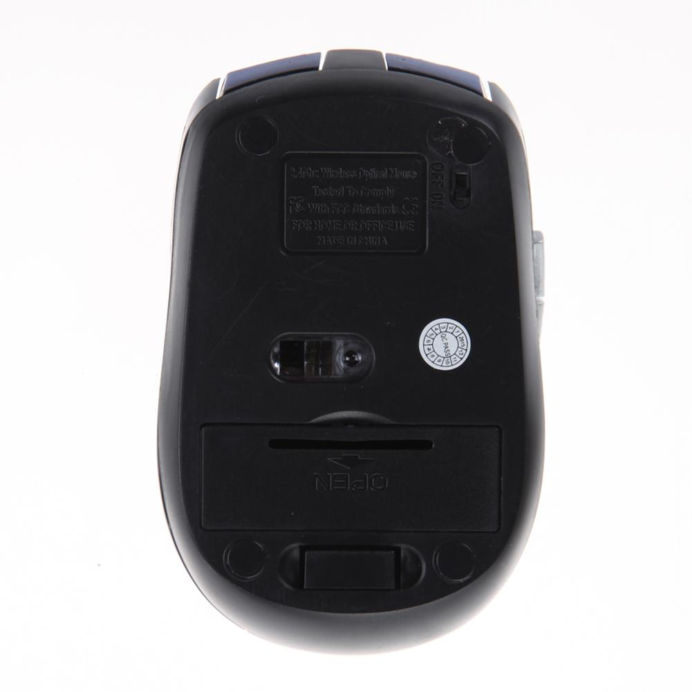 Portable 2.4Ghz Wireless Optical Gaming Mouse Professional Gamer Computer Mice With USB Receiver For PC Laptop High Quality