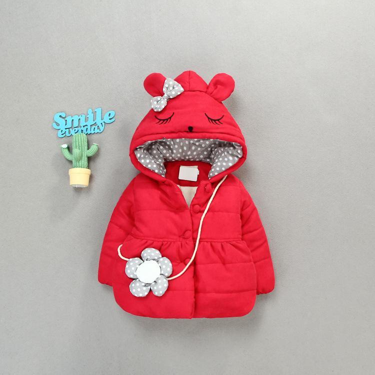 8f4335cedb97c Acheter Mihkalev Nouveaux Enfants Manteaux Hiver Fille Vêtements De Noël 1  3ans Bébé Bébé Hoodies Veste Et Manteau Enfants Chaud Survêtement De  35.08  Du ...