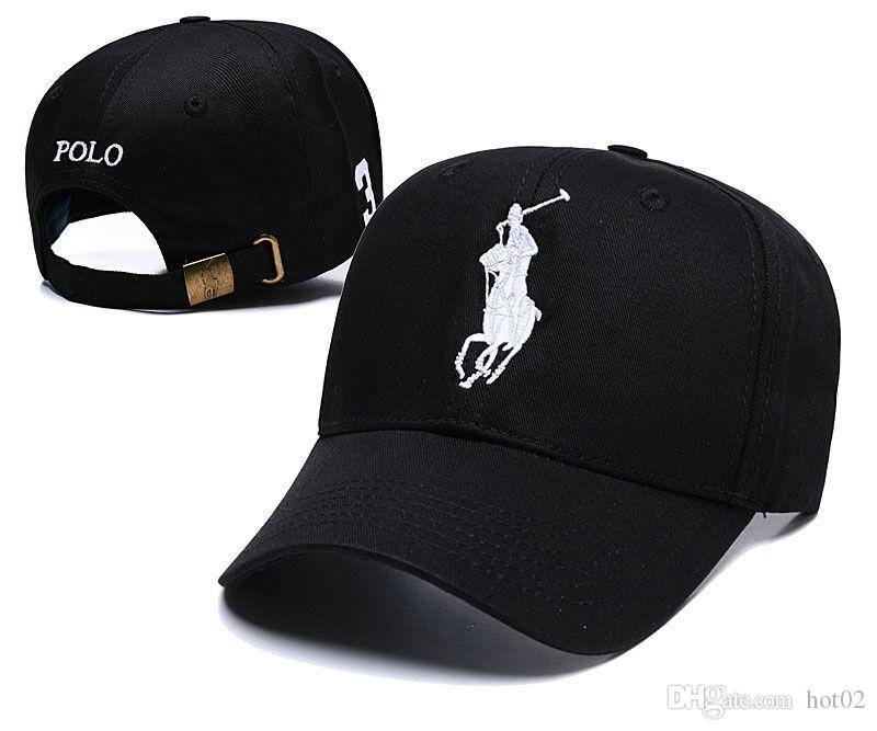 791f93a66b0 2019 Luxury Designer Newest Arrival POLO Luxury Brand Baseball Caps  Embroidery Snapback Caps Summer Golf Hats 6 Panel Gorras Dropshipping Army Hats  Custom ...