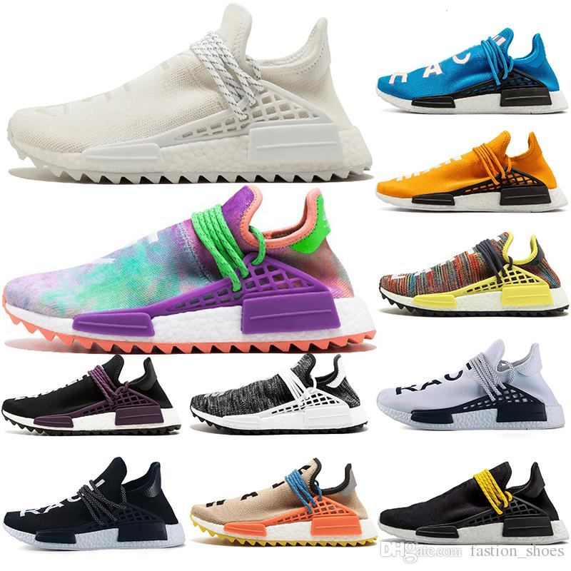 Human Race Hu Nmd Trail Nerd Running Shoe For Womens Mens Sports Shoes  Runner Cream White Black Designer Sneakers Trainers NMD Size 36 47 UK 2019  From ... 8c32fb097f