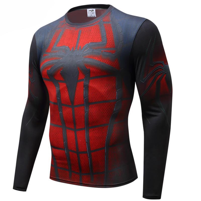 a9691a6c46f New Good QualityCompression Shirt Men Marvel Avengers Superhero T Shirt  Fitness Men Long Sleeve T Shirt Tee Shirts Tights Ts Shirts A Team Shirts  From ...