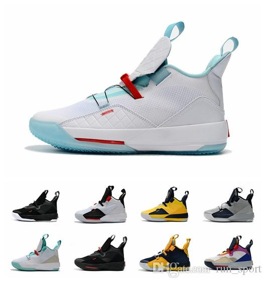 super popular e74df 94f5c Compre 2019 Nike Air Jordan 33 Jumpman 33 XXXIII Utilidad Blackout Visible  Utilidad Tech Pack Future Flight Prepárate Para Volar 33s PE Jade Guo Ailun  ...