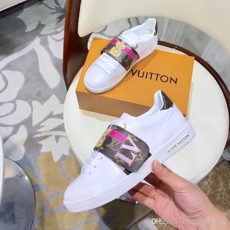 9cedd5c86c3 2019 5anew Real Leather Women S Casual Fitness Shoes Fashion White ...