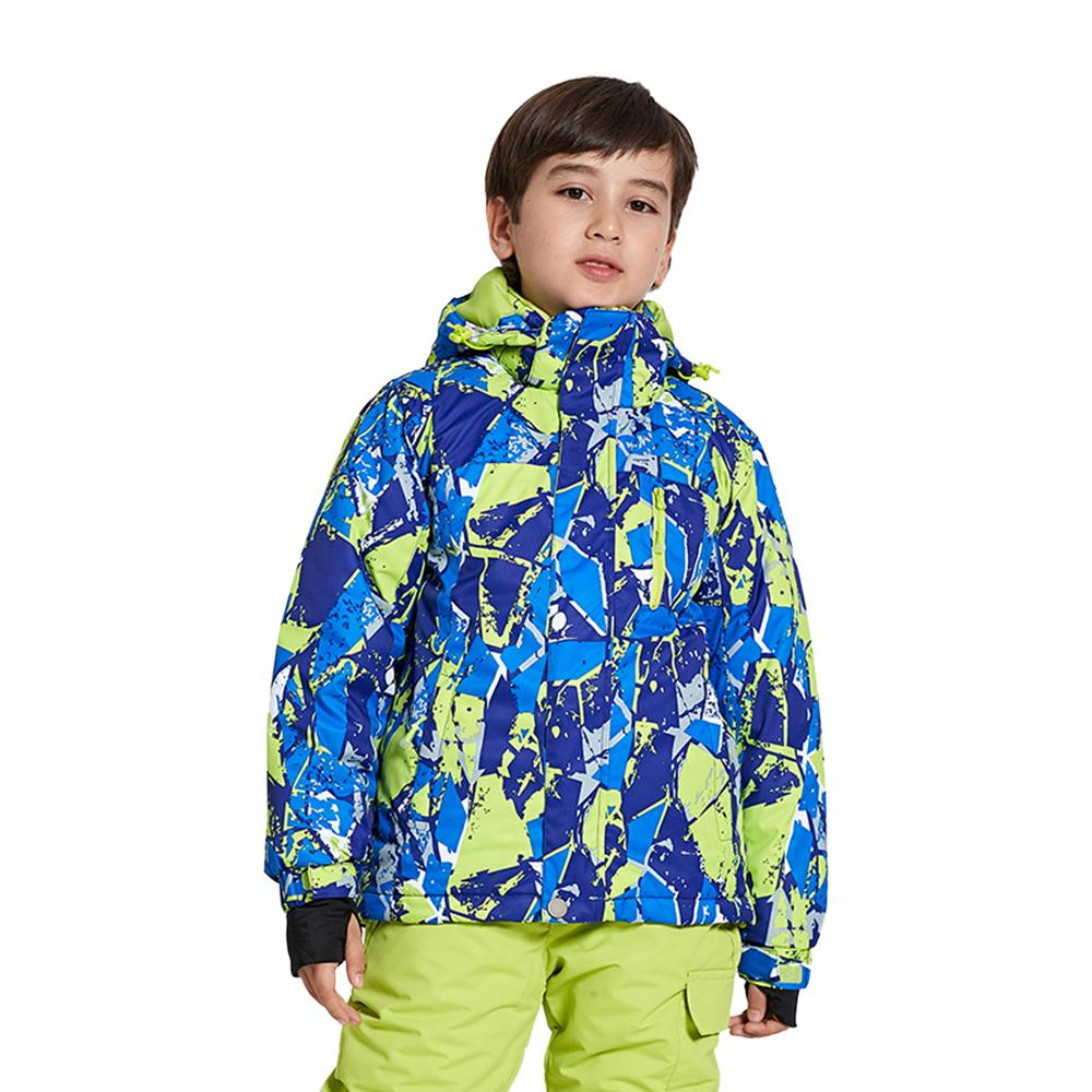 1100f1a33af2 2019 Snowboard Jacket Waterproof Ski Jacket For Kids Children Outdoor Warm  Hooded Snowboard Winter Sports Coat Ski From Bluelike