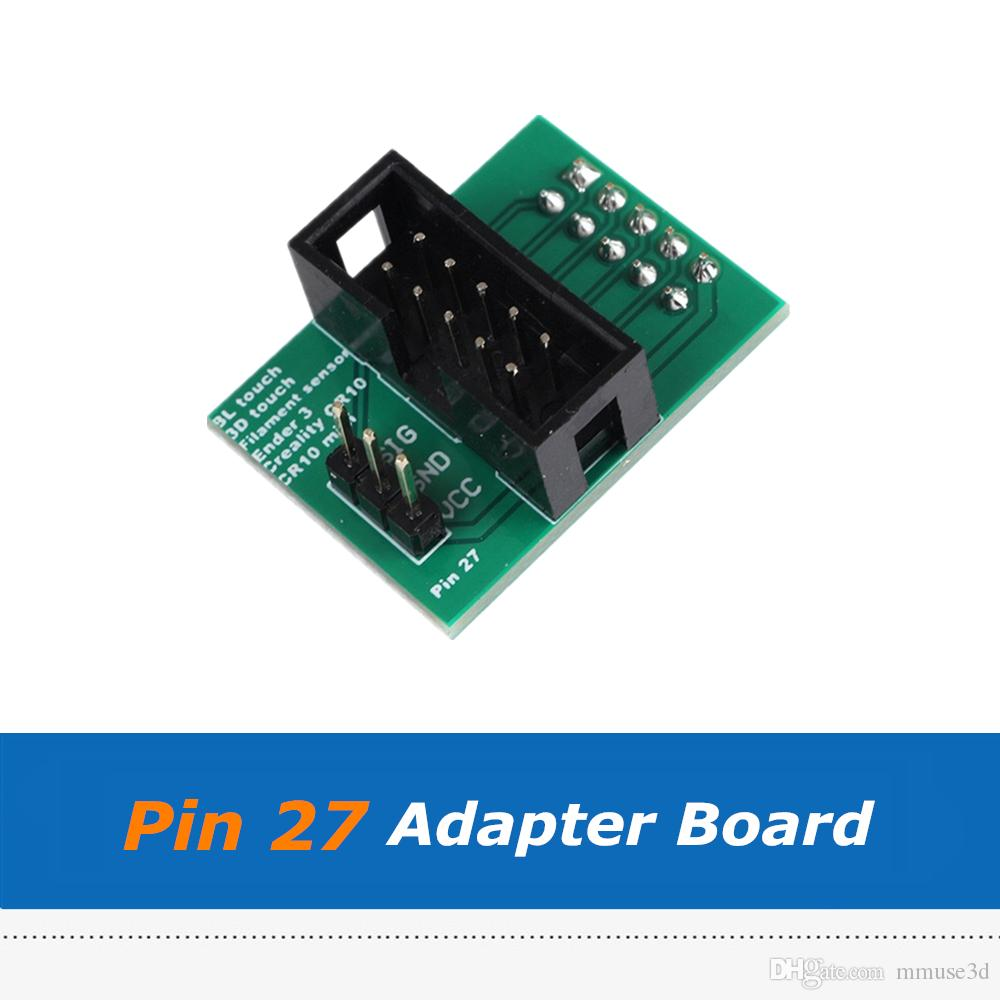 4pcs Wider Power Channels Pin 27 Board Adapter Sensor For CR-10 / Ender-3  Ender 3 Pro BL-Touch 3D Printer Parts