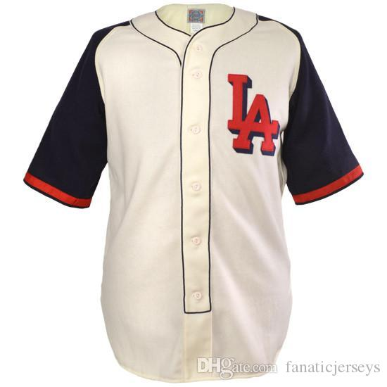 c9510d25e2a7 Compre Los Angeles Angels PCL 1941 Home Jersey 100% Movie Baseball Jerseys  Custom Any Name Any Number Envío Gratis Hombres Mujeres J XXXL A  26.39 Del  ...