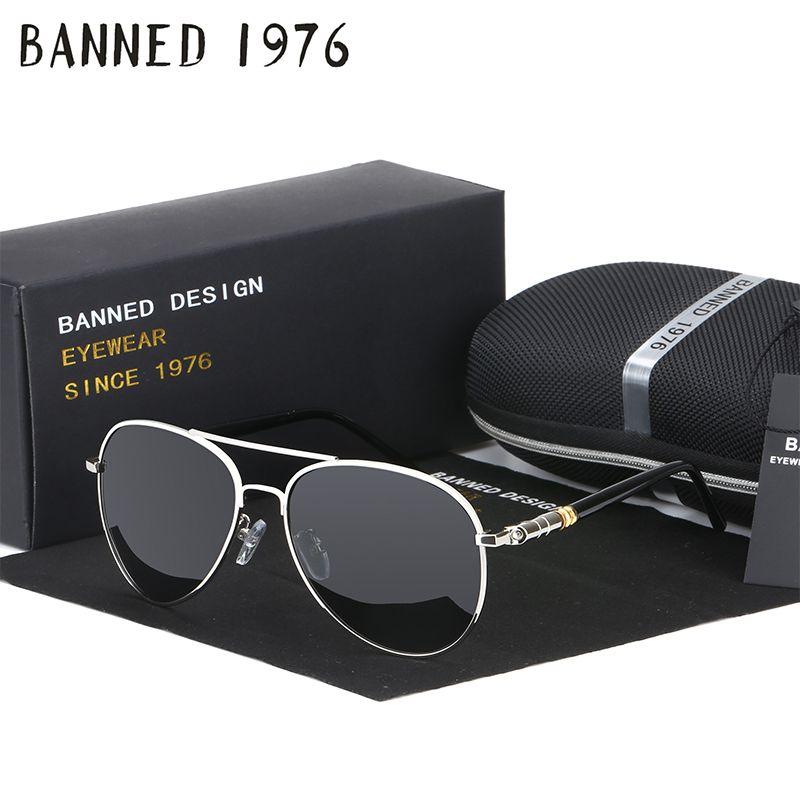 eaeef1599 Compre Hd Polarized Brand New Óculos De Sol Dos Homens Para A Condução De  Luxo Cool Coating Espelho Óculos De Sol Masculino Feminino Mulheres  C19041601 De ...