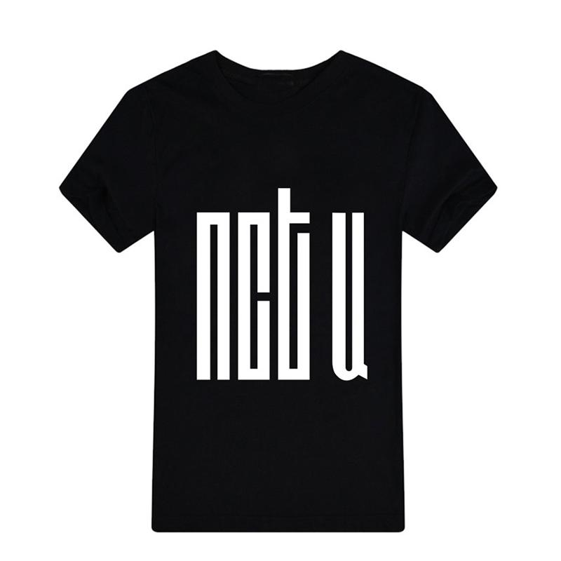 Women's Tee Kpop Korean Fashion Nct U Album Mark Do Young Tae Il Jae Hyun  Taeyong Ten Cotton Tshirt K - Pop T Shirts T-shirt Pt108