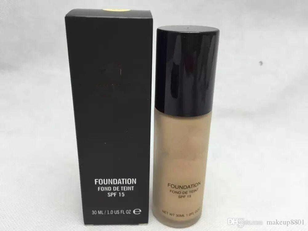 newest brand makeup studio foudation spf15 highest quality foudation nude skin 30ML dhl free shipping