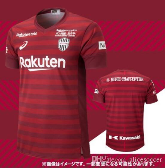 2019 Camisetas De Fútbol Vissel Kobe DAVID VILLA 7 A.INIESTA 8  Podolski 10 INICIO ROJO 19 20 CAMISETAS DE FÚTBOL MITA DE AWERS Por  Alicesoccer 9501d236922