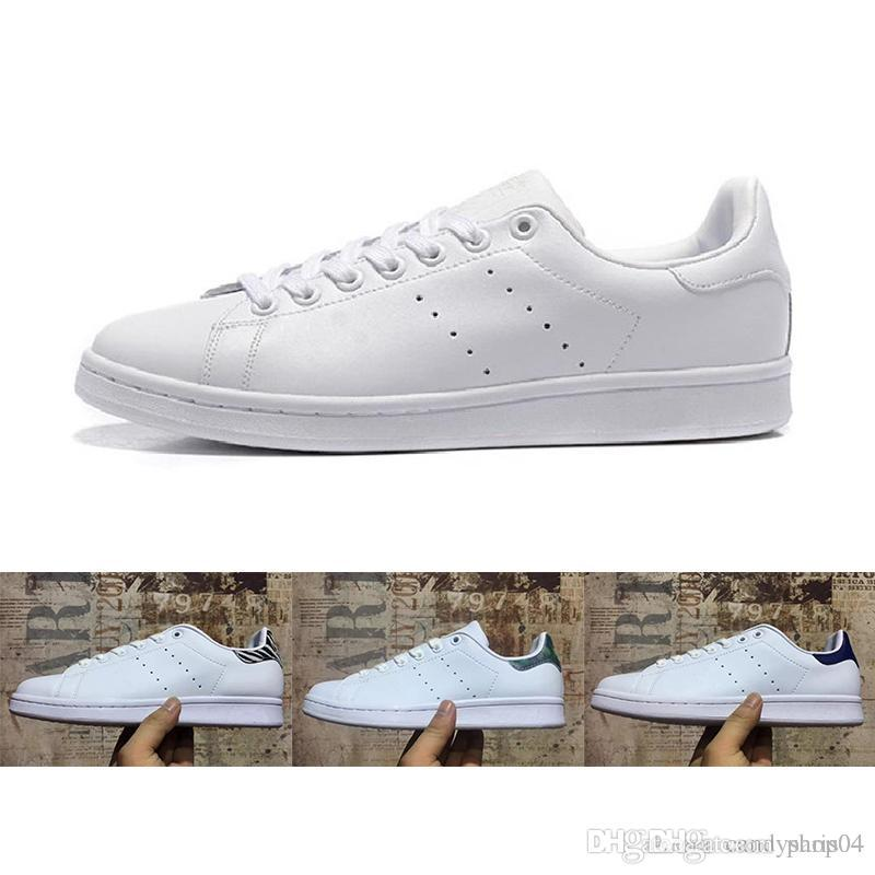 c04d4fa64a High quality discount top class women s shoes men s new Stan shoes fashion  Smith sneakers casual leather sports shoes white gold r