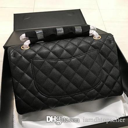 4864befff Luxury Handbags Women Bags Designer Double Flap Black Vintage ...