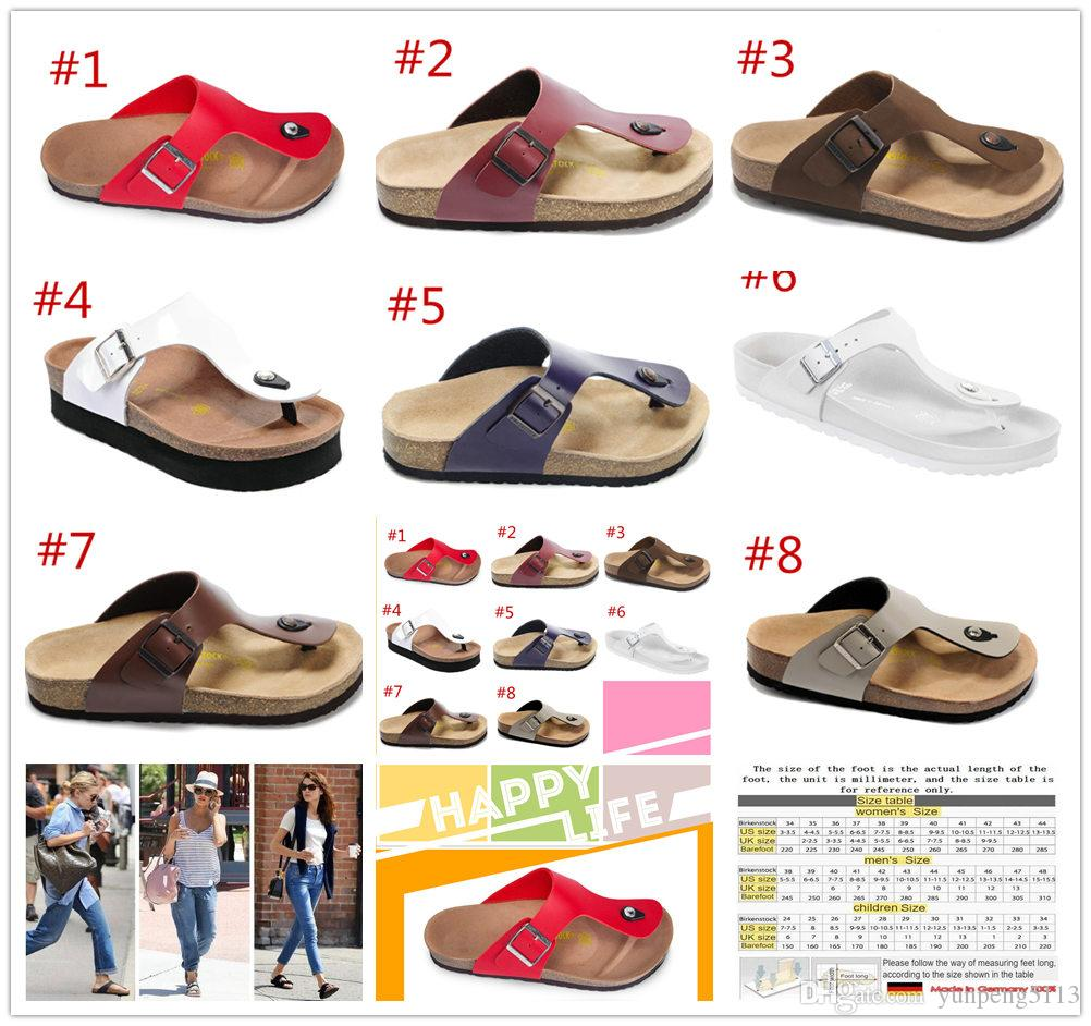 4ca1f9a34 2019 New Summer Beach Cork Slipper Flip Flops Sandals Women