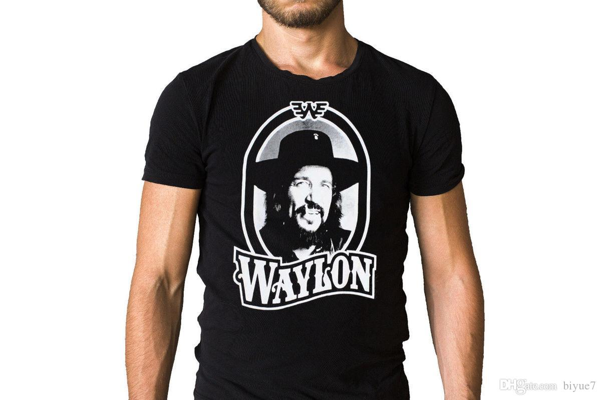 016e0c9d Waylon Jennings Tour Face T Shirt Funny Print Shirts White T Shirt Designs  From Biyue7, $13.61| DHgate.Com