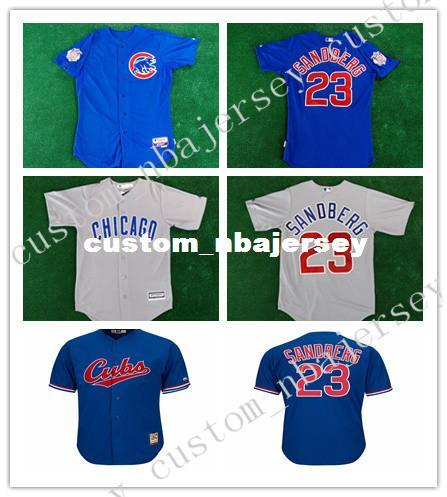 Cheap Custom Ryne Sandberg Cool Base jerseys 1994 Stitched Customize any name number MEN WOMEN YOUTH XS-5XL