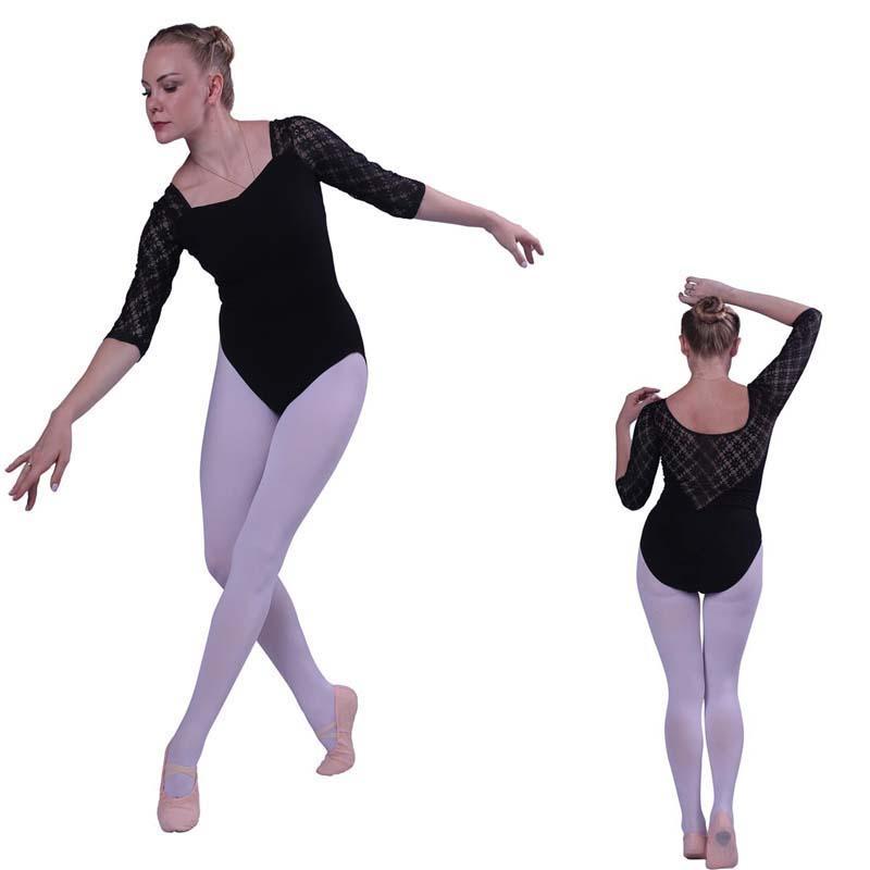 c6c5610ddcb5 2019 Ballet Leotards For Women Pure Cotton Black Ballet Dancewear Adult  Dance Practice Clothes Gymnastics Leotards From Splendid99, $29.24 |  DHgate.Com