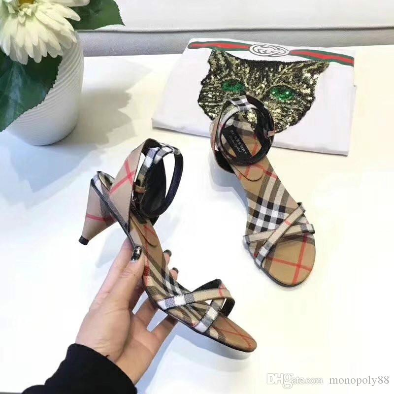 High-end brand fashion catwalk boutique luxury women's shoes classic explosions wild casual shoes to create fashion ladies sandals