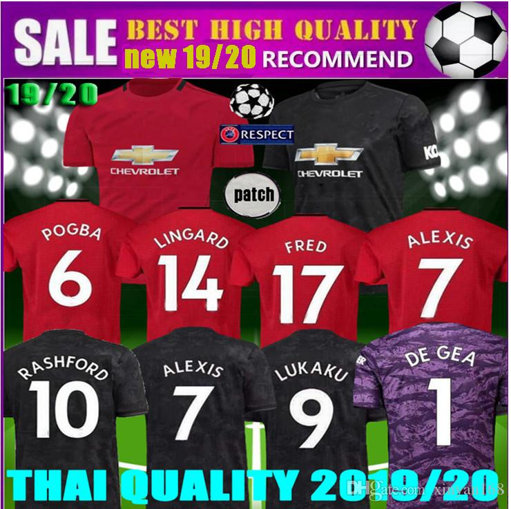 a965d17a8c3 2019 2019 2020 New Man Women LUKAKU POGBA ALEXIS Manchester Soccer Jersey  18 19 20 United Goalkeepe MARTIAL LINGARD RASHFORD UTD Football Shirt From  ...