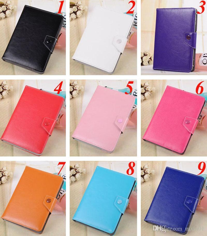 Universal verstellbare Flip PU Leder Stand Case Cover für 7 8 9 10 10,1 10,2 Zoll Tablet PC MID Samsung Tab iPad Huawei