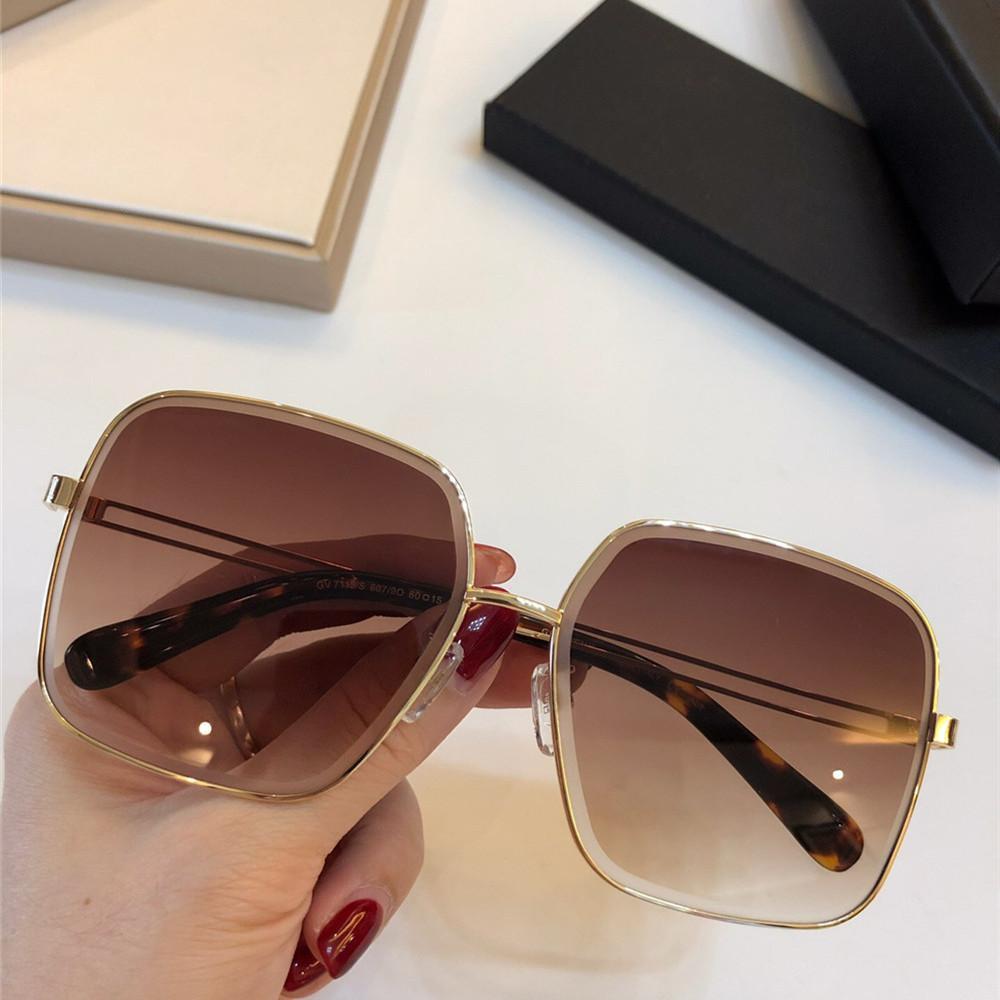 d0486d1623c 2019 New Gradient Square Sunglasses Fashion Italy Designer Retro ...