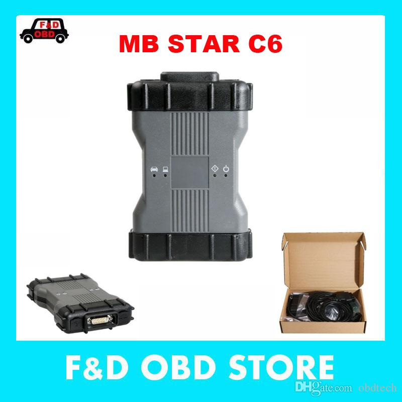MB Star C6 MB Diagnosis VCI SD Connect C6 OEM DOIP Xentry Diagnosis VCI  Hardware without Software HDD