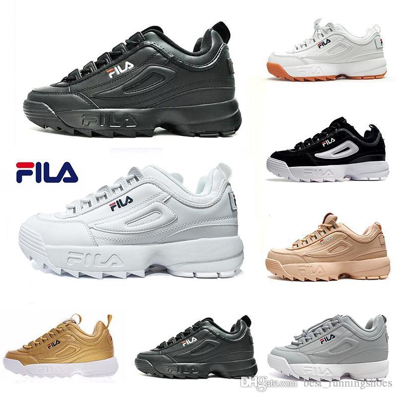 on sale d3205 41d4a Disruptors 2 raf simons ozweego Sawtooth white black Pink II Women mens  Designer platform sneakers Casual Shoes Trainers Chaussures 36-45