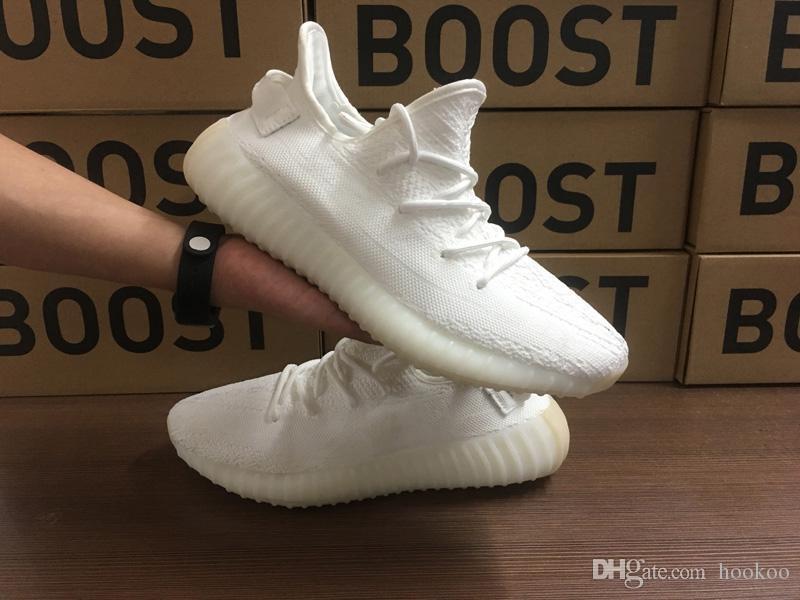 low priced df45e 26283 Compre Adidas Yeezy Boost 350 Supreme Nike NMD Vans Zapatos Desinger Beluga  2.0 Sply 350 V2 Crudos Semicongelados Amarillo Tinte Azul Cebra Cobre Verde  ...