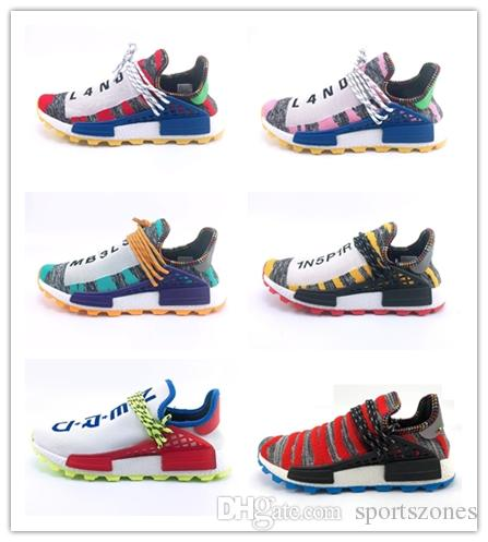 88e8c1c19 Cheap Wholesale HUMAN RACE Pharrell Williams X 2019 Men Women Discount  Cheap Fashion Sport Shoes Free Ship Barefoot Runn HUMAN Wholesale 2019  Online with ...