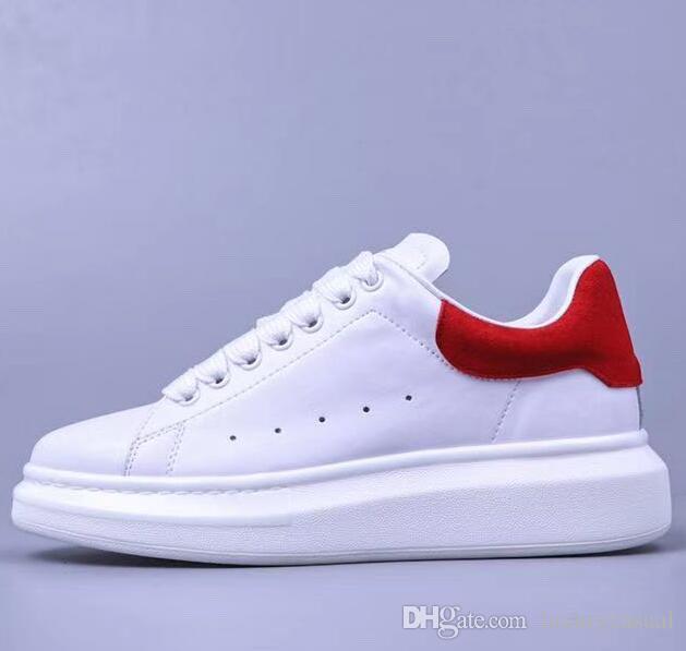89c6e637577e 2019 Cheap On Sale White Casual Platform Shoes Mens Womens Splice ...