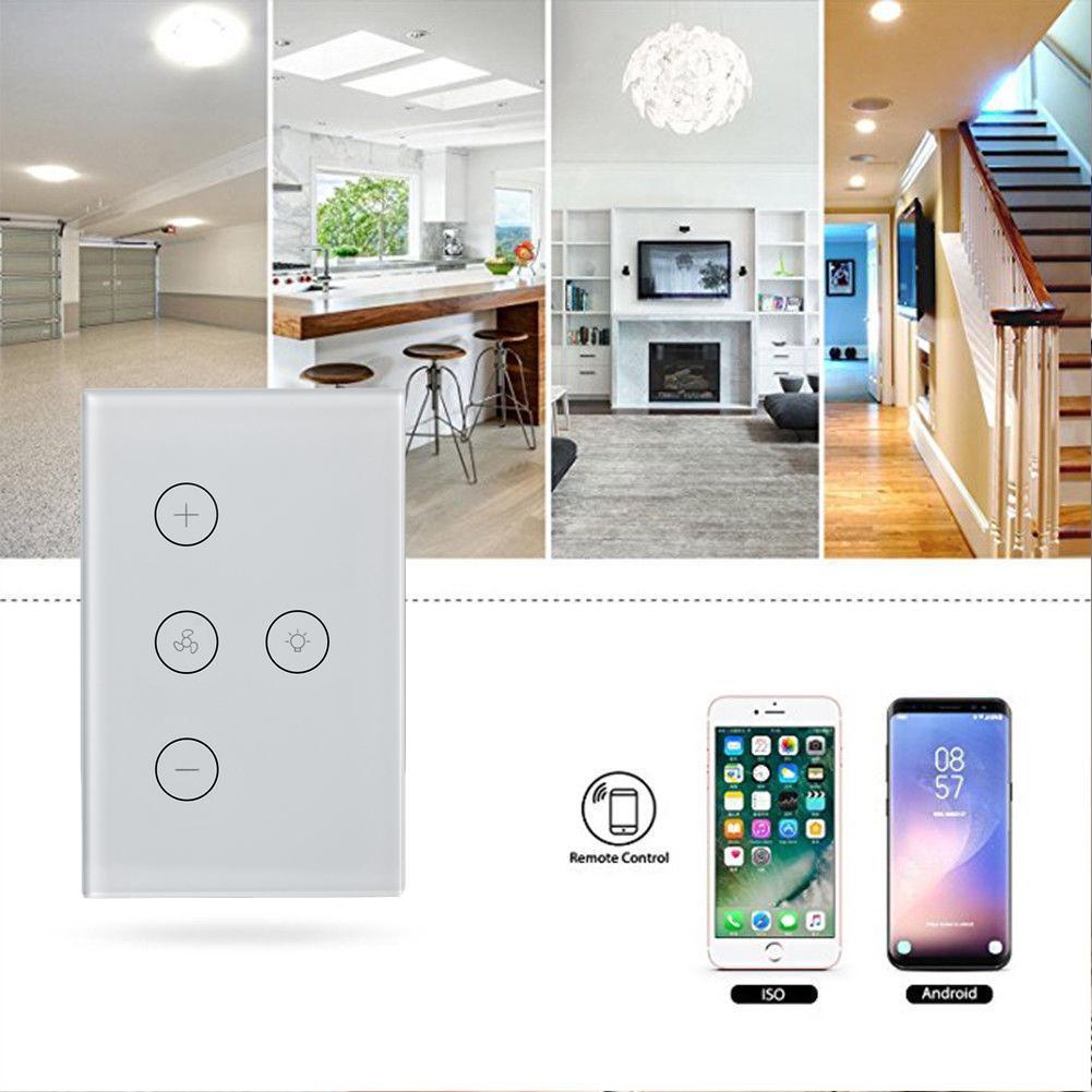 Wf Fl01 Smart Wifi Ceiling Fan Switch Intelligence Homeotic Wireless