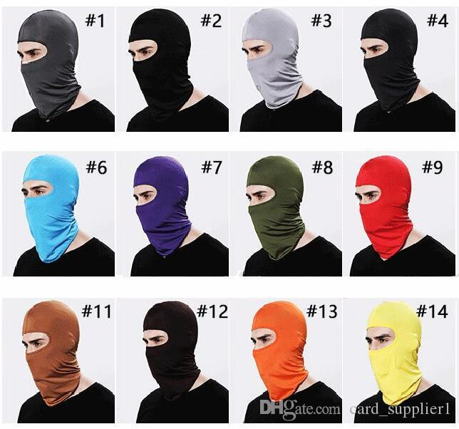 Camouflage thermique Fleece Balaclava chaud Hiver Cyclisme Ski cou Masques Hoods paintball Chapeaux Balaclava masque facial masque facial
