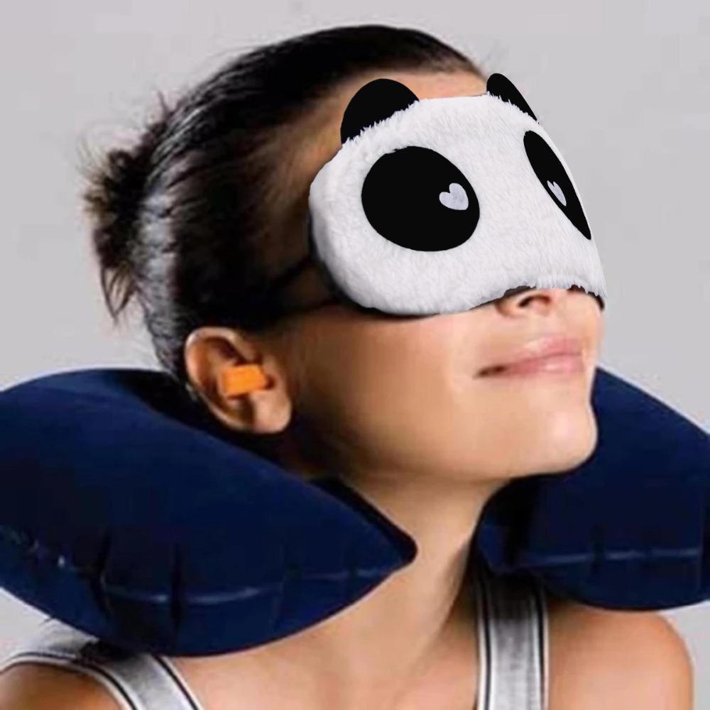 Huanda panda göz kapağı uyku maskesi göz maskesi unicorn boynuz hediyeler bebek duş panda parti doğum günü partisi süslemeleri şekeri çocuklar