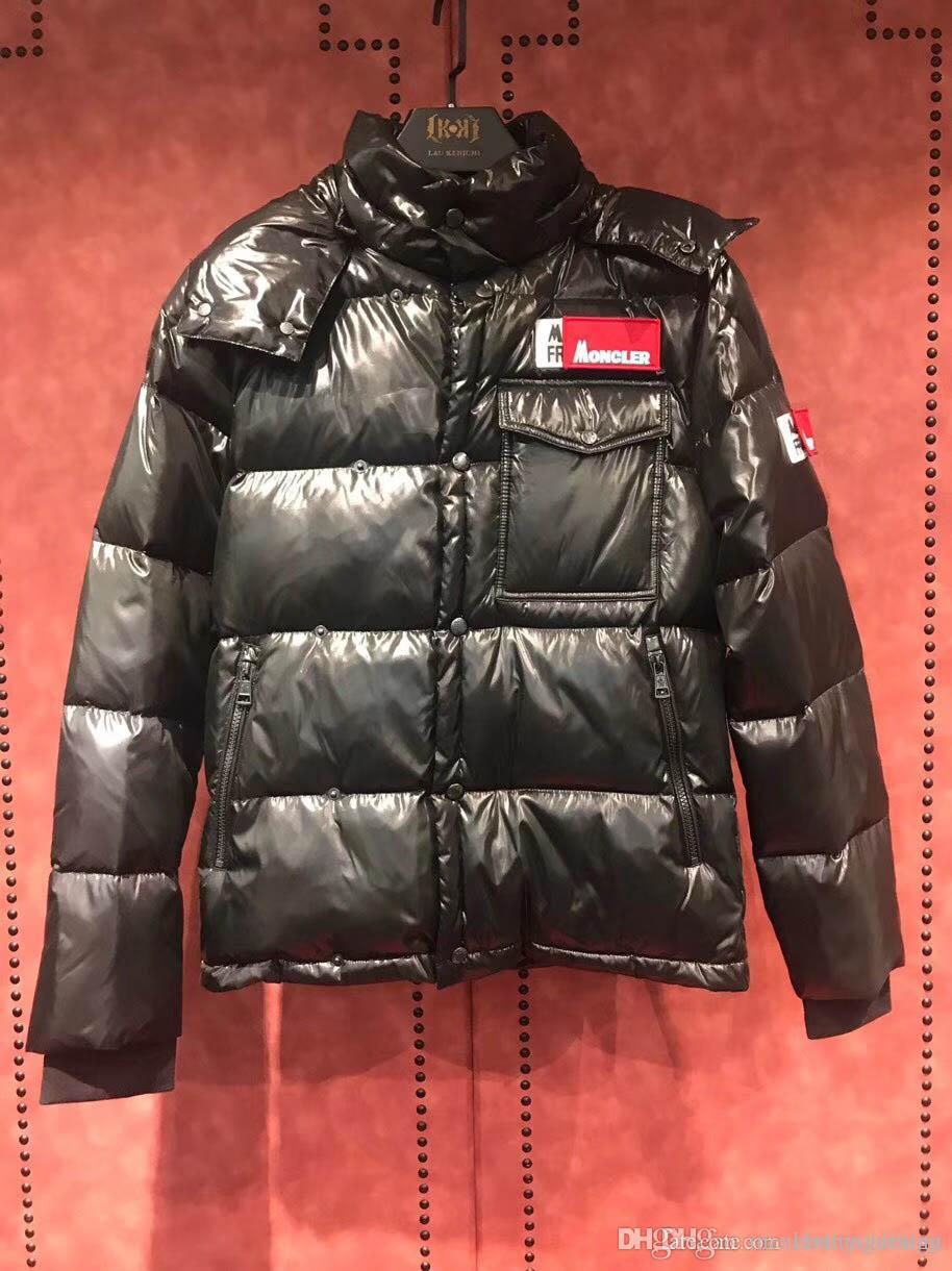 women to buy wholesale Winter menswear designer jacket, men's fashion Canadian goose down,  designer trench coat, luxury zipper, black velvet jacket