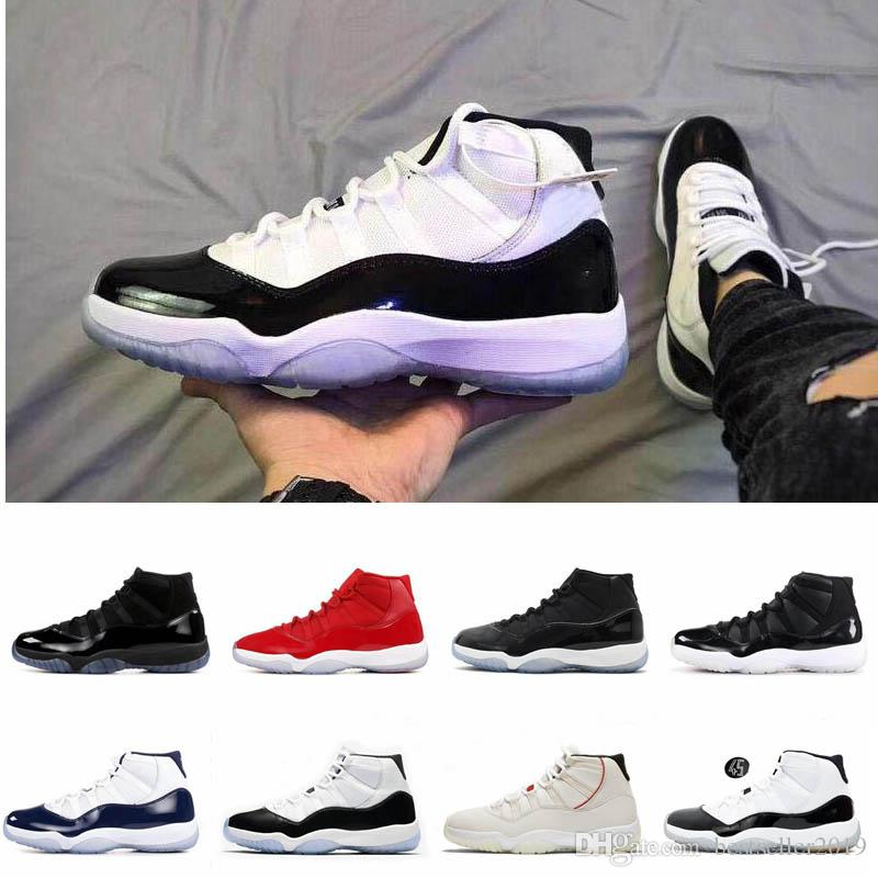 Real Concord 11s: 2019 Concord 11 23 45 Mens Womens Designer Basketball